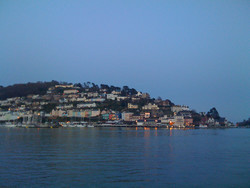 iPhone photography - Panorama view of Darmouth in Devon