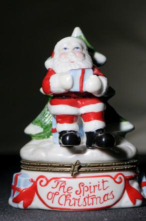 Test shot of Santa with a flashgun